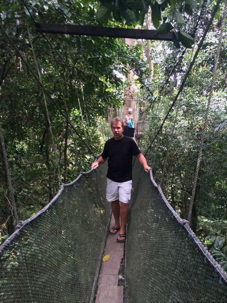 me on the canopy walk
