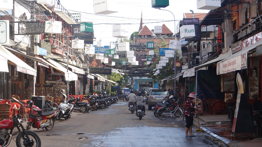 Just another photo of Siem Reap in the morning.