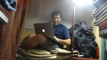 Train ride to Varanasi, India: Kenneth Curtis blog
