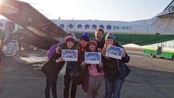 Flight to Everest, Kathmandu, Nepal kenneth curtis travel blog