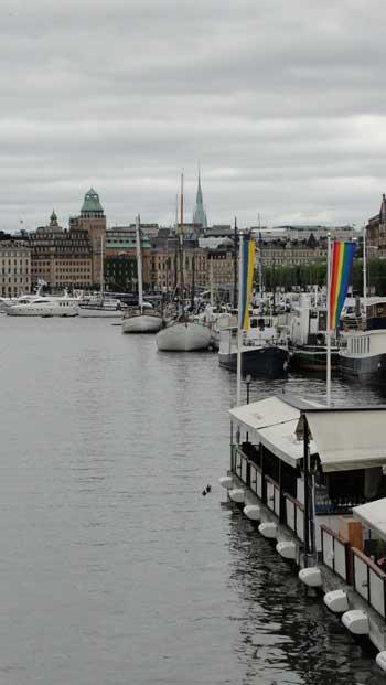 A view of the harbor in Stockholm Sweden, Ken Curtis 2010