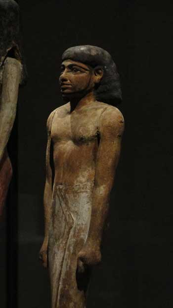 Statue from Egypt, Ken Curtis 2010