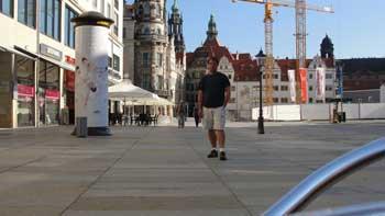 ken curtis, Dresden Germany