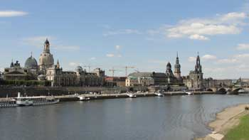 Water front, Dresden Germany