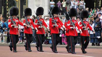 Changing of the Guard, London 2010