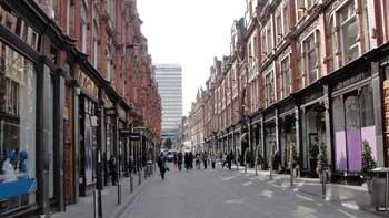 Street in Leeds, England Ken Curtis Summer 2010