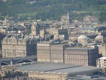View of Edinburgh, Scotland Ken curtis' summer trip 2010