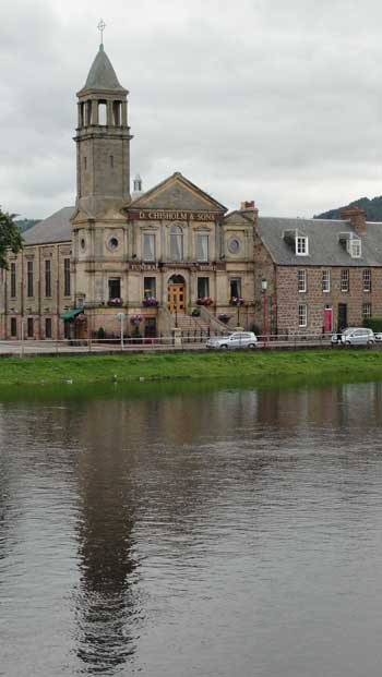 Church in Inverness, Scotland, Kenneth Curtis' 2010 summer vacation