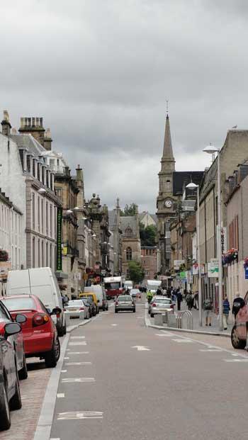 Inverness, Scotland Ken Curtis' 2010 vacation